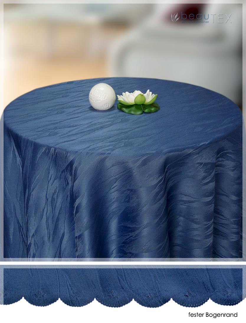 marmor damast tischdecke tafeltuch rund farbe gr e w hlbar ebay. Black Bedroom Furniture Sets. Home Design Ideas