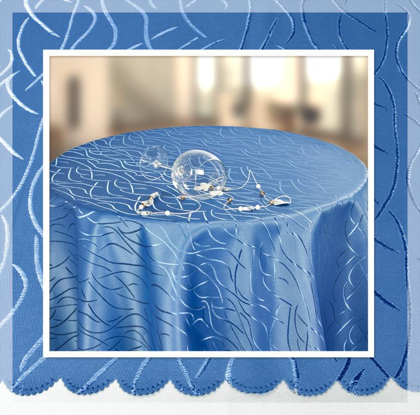 streifen tischdecke rund 160 cm farbe w hlbar ebay. Black Bedroom Furniture Sets. Home Design Ideas
